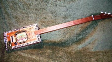 Electric Slide Cigar Box Guitar
