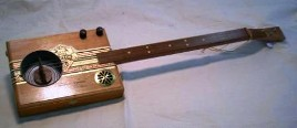 Resonator Cigar Box Guitar